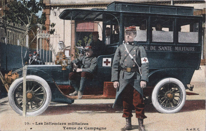 Ambulanciers militaires